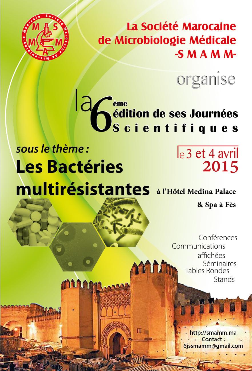 6èmes Journées Scientifiques 2015
